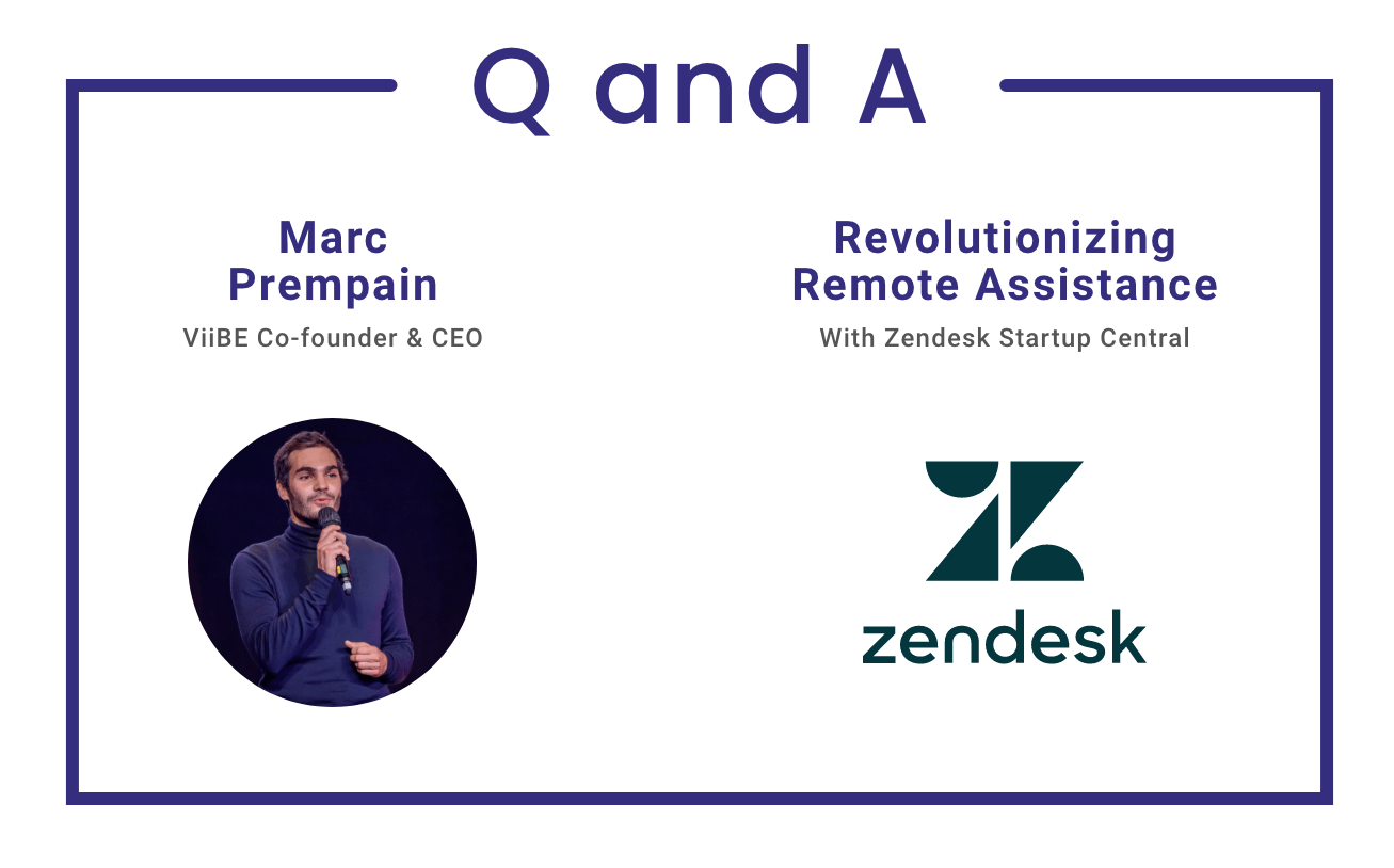 Zendesk startup central viibe interview